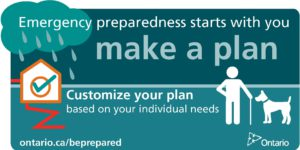 Make a plan: customize your plan based on your individual needs.